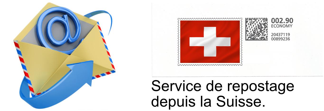 repostage en Suisse